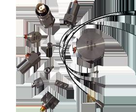 圧電型加速度ピックアップ